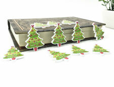 25pcs Wooden Button Sewin coloured lights decoration Christmas Tree scrapbooking