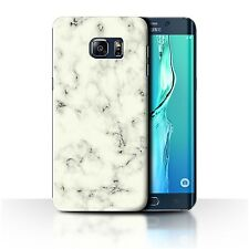 STUFF4 Case/Cover for Samsung Galaxy S6 Edge+/Plus/Marble Rock Granite Effect