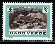 Cape Verde 492, MNH, WWF Tarentola gigas brancoensis, 1986.  x9567
