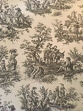 Black & White French Toile Wallpaper Roll Waverley Country Life SALE!