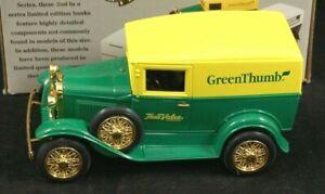 GREEN THUMB True Value Model A Delivery Van 1/25 Scale Liberty Classics MIB
