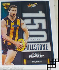 2016 Select AFL Footy Stars Milestone Card #MG43 James Frawley - Hawthorn