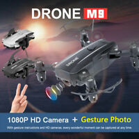 Mini Drone X Pro 2.4G WIFI FPV Double caméra HD 1080P Quadricoptère pliable RC G