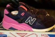 Men's New Balance 580 Elite Shoes 10.5 Solarized Blue/Pink MRT580UP Suede Glow