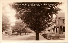 Postcard NJ Elmer Residential Section South Main Street Dirt Road C.1910 M31
