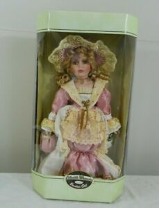 Charlotte Collectible Memories Genuine Porcelain Doll Limited Edition COA NIB