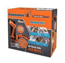 Twist-A-Scie Deluxe Kit le Renovator Marteau perforateur Jigsaw Router Cut Outil