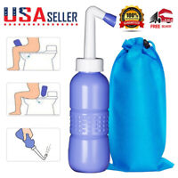 New Portable Bidet Handheld Travel Personal Toilet Spray Water Washer Bottle USA