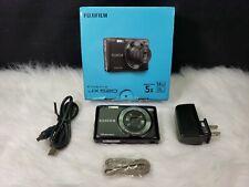 Fujifilm FinePix JX520 14MP Digital Camera with 5x Optical Zoom - Black
