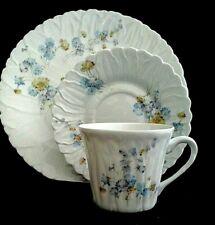 Limoges Trio Setting Galerie de France Porcelain Dessert Plate Cup&Saucer set