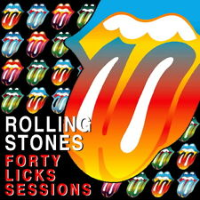 The Rolling Stones COMPLETE FORTY LICKS SESSIONS STUDIO CD - Limited & Numbered