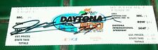 Jeff Gordon  autographed ticket from 1997 Daytona 500 Complete Signed