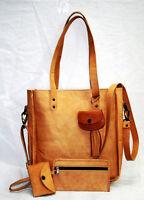 4pcs Women Leather Handbag Shoulder Bags Tote Purse Messenger Satchel Clutch Bag