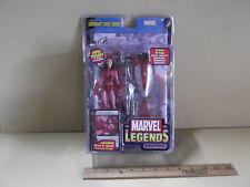 """Marvel Legends SCARLET WITCH 6.5""""in Figure Toy Biz 2005      """"Squished Package"""""""