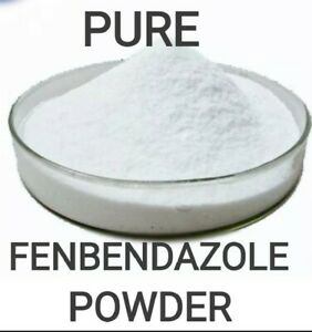 Fenbendazole Powder 99.95%,30g Pure Lab Tested Dog Wormer,No Fillers, Panacur