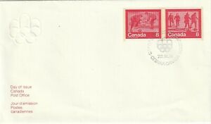 1974 Canada FDC cover Winter Olympic Games Montreal
