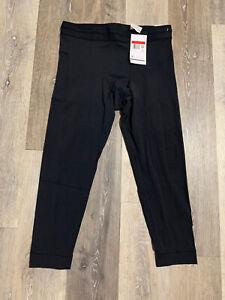 Nike Yoga Infinalon Dri-FIT 3/4 Tights Black CT1830-010 Size Large NWT $60