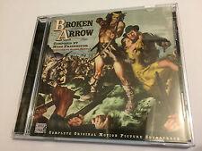 BROKEN ARROW (Friedhofer) OOP 1999 Brigham Young Ltd Score OST Soundtrack CD NM