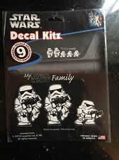 Chroma Star Wars Stormtrooper Family Decal Kitz My Star Wars Family 9 Decals New