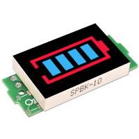 LED Indicateur Testeur de Capacité pour 3.3-4.2V DC 1S Lithium Batterie