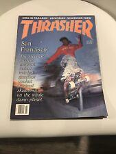 Thrasher Skateboard Magazine July 1989 Issue