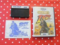 Indy Indiana Jones and the Last Crusade Sega Master System in OVP mit Anleitung