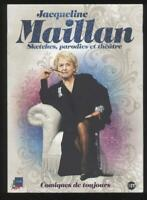 DVD Jacqueline Maillan Sketches Parodias Teatro Comics como Nuevo