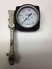 RCM Flow Meter Gauge GPM