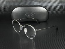 RAY BAN RX3947V 2501 Silver Demo Lens 48 mm Unisex Eyeglasses