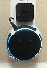 SturdyGrip™ PLUG-IN Wall Mount for Amazon Echo Dot 3rd Gen (White)