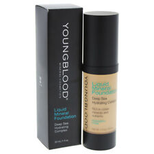 Liquid Mineral Foundation - Sand by Youngblood for Women - 1 oz Foundation
