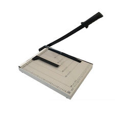 "Paper Cutter 15""x12"" Guillotine Blade Metal Base B4 Trimmer Scrap Booking Office"
