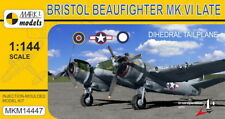Mark I Models 1/144 Bristol Beaufighter mk.vi Late ' dihedral Coda aereo '