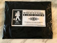 Fallout Vault Boy of the Month T Shirt Cannibal Men's Size X Large NIB