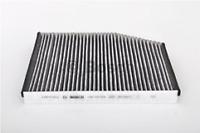 BOSCH POLLEN CABIN FILTER CARBON R5524 FORD TOURNEO CUSTOM - TRANSIT (CUSTOM)