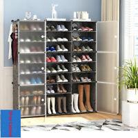 Shoe Cabinet Dustproof Modular Shoes Boots Organizer Holder Storage Shoe Rack