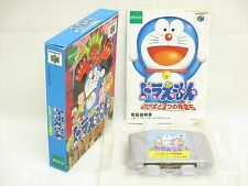 DORAEMON Nobita to 3 Seireiseki Item Ref/bbc Nintendo 64 Japan Game n6