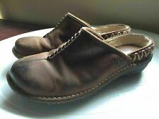 UGG Kohala Leather Clogs WOMENS SHOE SHEEPSKIN SIZE 7 BROWN