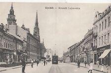 B80609 kossuth lajos ter tramway ujvidek novi sad serbia front/back image