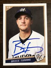 2018 Helena Brewers Brice Turang RC Auto Signed Autograph