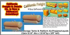 Horizontal Storage Tank & Platform Air/Propane/Liquids CAL Freight & Details Co
