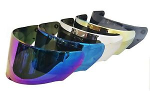 LS2 FF320 FF353 FF800  DARK RAINBOW BLACK IRIDIUM GOLD BLUE TINTED VISOR VISORS