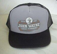 John Wayne Cancer Foundation Cowboy Actor Mesh Snapback Adjustable Trucker Cap