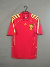 Spain Jersey 2008 2009 Home M Shirt Adidas Football Soccer ig93