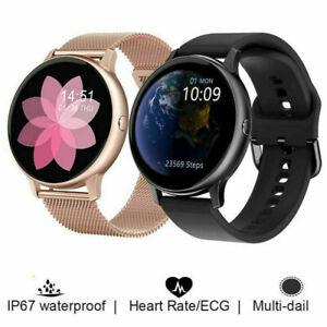 Women ECG Smart Watch IP68 Waterproof Phone Mate For iphone IOS Android Samsung