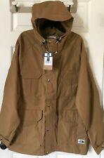 $229 NWT Mens The North Face Mountain Parka Hooded Water Repel Jacket Khaki XL