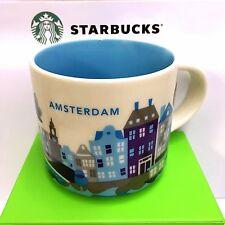 Starbucks You Are Here City Mug AMSTERDAM, Collection YAH, 14oz new, NETHERLAND