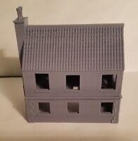 1/72  1:100  1:200 bunker house cottage Scale 3d Printed WW II Model Tank