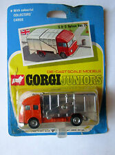 CORGI JR. camion poubelle 1970