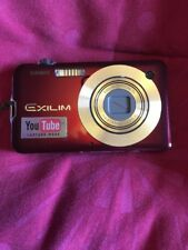 Casio Exilim Digital Camera Red